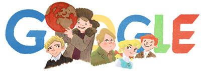 Google Logo: Oscar Luts' 125th birthday, Estonian writer